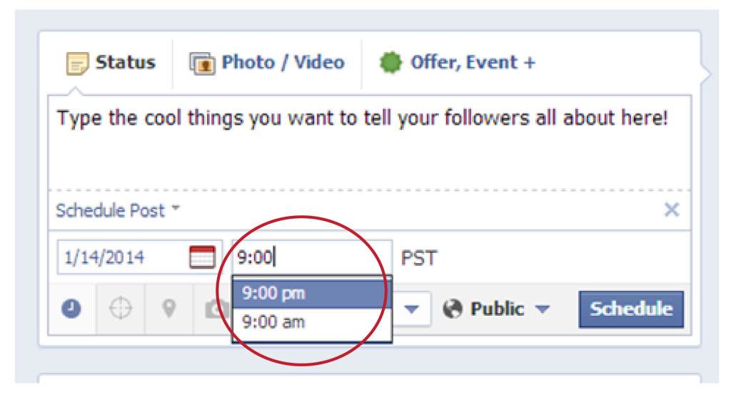 Best time to schedule facebook post