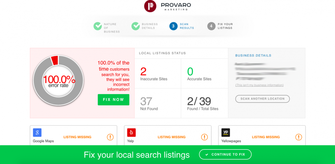 Why Local Listing Accuracy is Important
