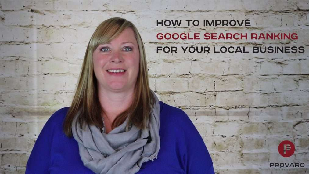 How to improve Google search ranking for your local business