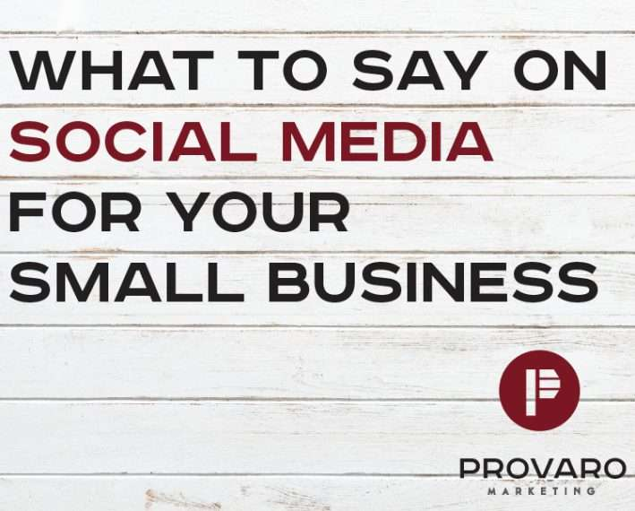 what to say on social media for your small business
