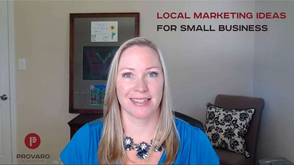 Local marketing ideas for small business